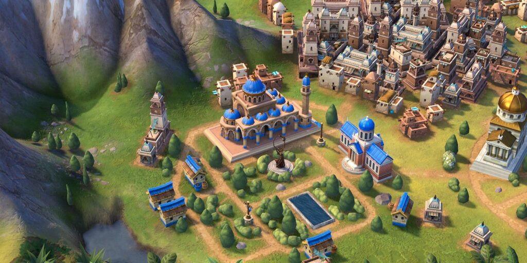 Civilization 6 cities