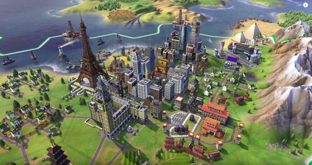 Civilization 6 town