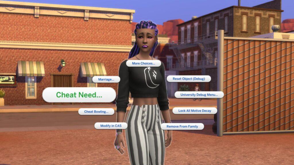 Sims 4 cheat