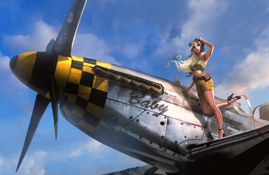 War Thunder Girl