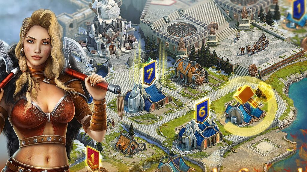 Vikings- War of Clans gameplay