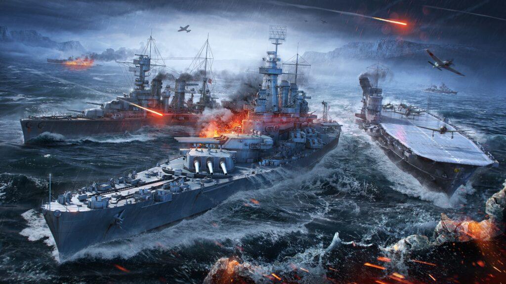 World Of Warship Ships