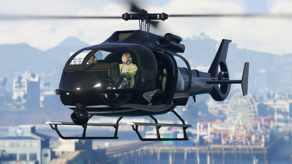 GTA Online Helicopter (1)