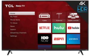 TCL Smart Roku TV